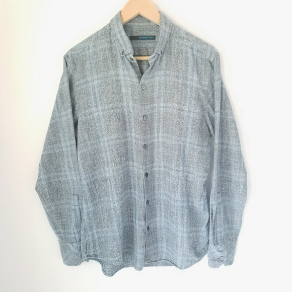 Zachary Prell Other - Zachary Prell | Mens Blue and Gray shirt SZ M
